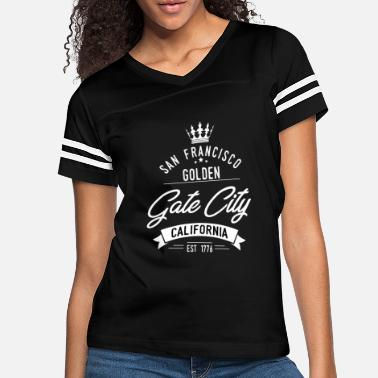 Golden Gate Funny San Francisco - Golden Gate City Californi - Women's Vintage Sport T-Shirt
