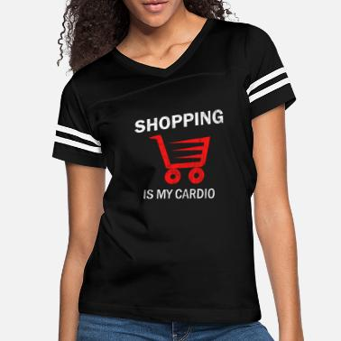 Shopping Shopping Cart Shopping - Women's Vintage Sport T-Shirt