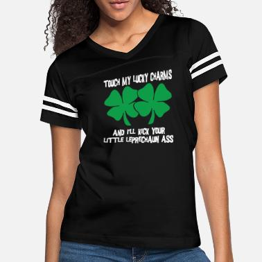 Shamrock Touch My Lucky Charms Dark - Women's Vintage Sport T-Shirt