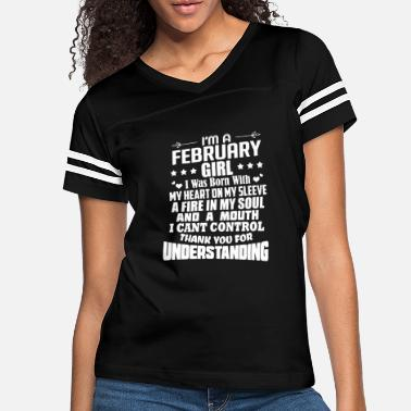 February Girl I'm A February Girl birthday gift - Women's Vintage Sport T-Shirt
