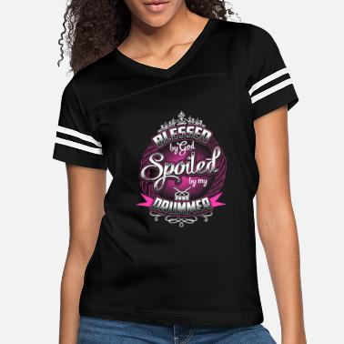 Drummers Drummer - Blessed by god spoiled by my drummer - Women's Vintage Sport T-Shirt