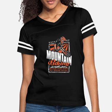 Mountain Hare Mountain - mountain biking because other sport - Women's Vintage Sport T-Shirt