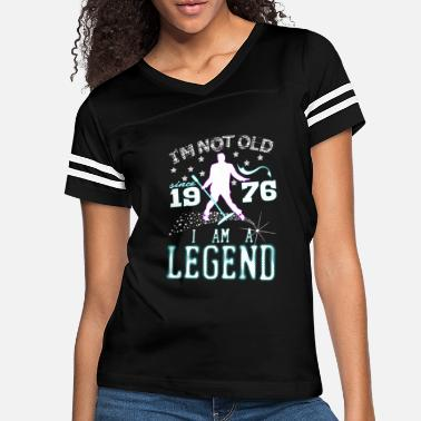 Rock N Roll I AM A LEGEND-1976 - Women's Vintage Sport T-Shirt