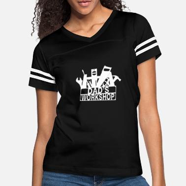 Workshop Dad s workshop - Women's Vintage Sport T-Shirt
