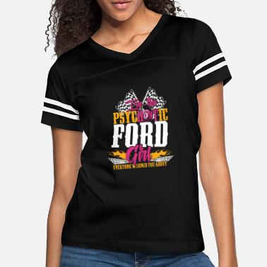 Michael Clifford Psychotic Ford girl - Everyone warned you about - Women's Vintage Sport T-Shirt