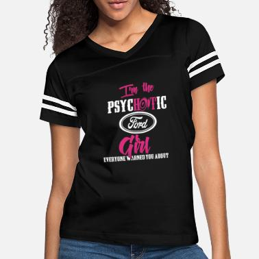 Michael Clifford Ford - Ford - im the psychotic ford girl - Women's Vintage Sport T-Shirt