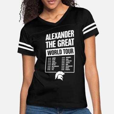 Greece Alexander The Great of Ancient Greece - Women's Vintage Sport T-Shirt