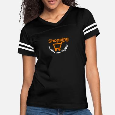 Shopping Happy Shopping - Shopping, shopping - Women's Vintage Sport T-Shirt