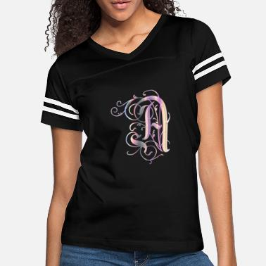 Letter A Decorative Light - Women's Vintage Sport T-Shirt