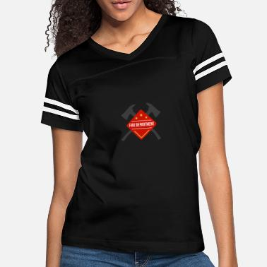 Fire Department Fire Department - Women's Vintage Sport T-Shirt