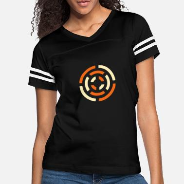 Stylish circle sign - Women's Vintage Sport T-Shirt