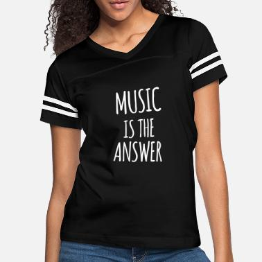 Answer Music is the answer (dh) - Women's Vintage Sport T-Shirt