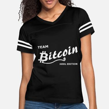 Wall Team Bitcoin - Women's Vintage Sport T-Shirt