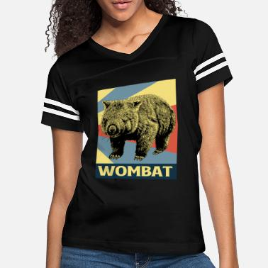 Awesome Rights Wombat Marsupial Australia Animal Outback - Women's Vintage Sport T-Shirt