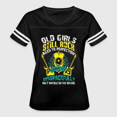 Old Girls Still Rocks T Shirt - Women's Vintage Sport T-Shirt
