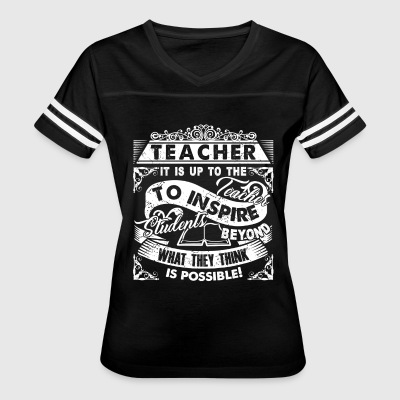 TEACHERS INSPIRE - Women's Vintage Sport T-Shirt