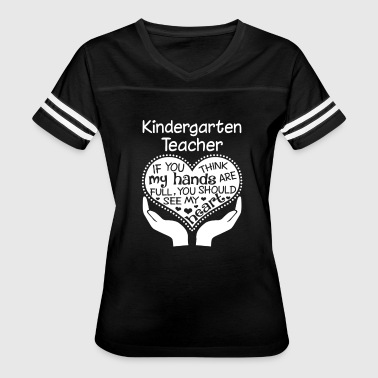 Kindergarten Teacher T-Shirt - Women's Vintage Sport T-Shirt