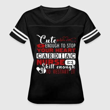 Cardiac Nurse Shirt - Women's Vintage Sport T-Shirt