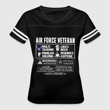 Air force veteran 100 organic - Women's Vintage Sport T-Shirt