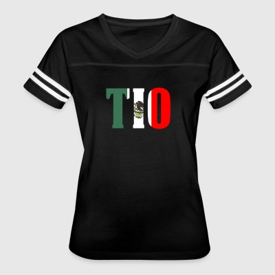 Cool Tio Gift Mexican Shirt Mexican Flag Shirt for Mexican Pride - Women's Vintage Sport T-Shirt