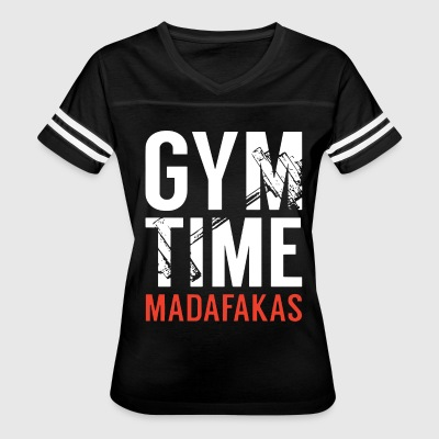 Gym Time Madafakas - Women's Vintage Sport T-Shirt