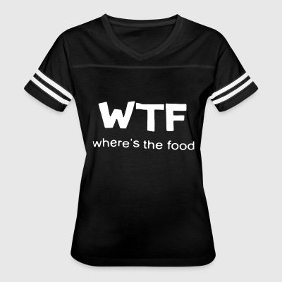 WTF where s the food - Women's Vintage Sport T-Shirt