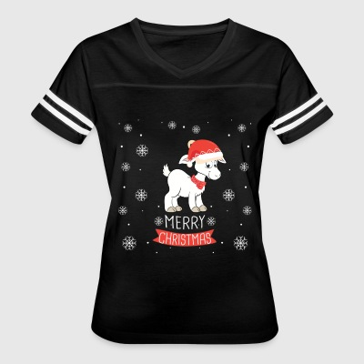 Best Christmas Day Ever With My Goat, Best Shirts - Women's Vintage Sport T-Shirt