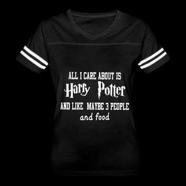 All i care about is harry potter and like maybe pe - Women's Vintage Sport T-Shirt