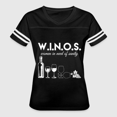 winos women in need of sanity - Women's Vintage Sport T-Shirt