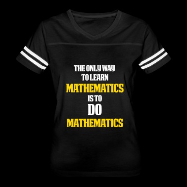 Math Lovers Gifts Math themed gift Do math - Women's Vintage Sport T-Shirt