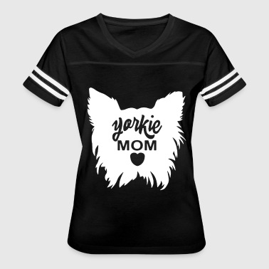 Yorkie Mom - Women's Vintage Sport T-Shirt