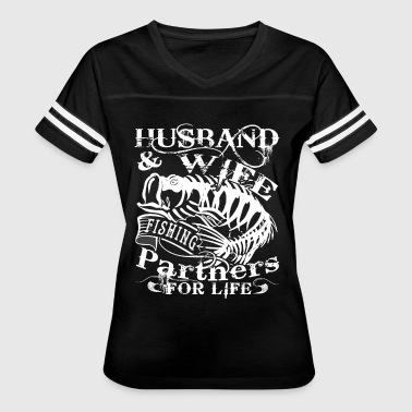Husband And Wife Fishing Partner For Life T Shirt - Women's Vintage Sport T-Shirt
