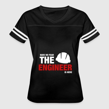 Have No Fear The Engineer Is Here - Women's Vintage Sport T-Shirt