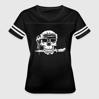 SKULL AND DAGGER - Women's Vintage Sport T-Shirt
