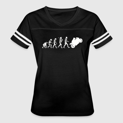 Evolution Motorcycle - Women's Vintage Sport T-Shirt