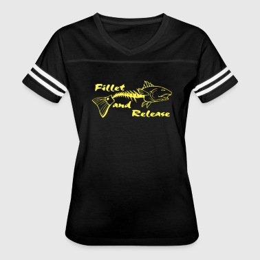 Fillet and Realese - Women's Vintage Sport T-Shirt