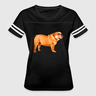 English Bulldog Shirt - Women's Vintage Sport T-Shirt
