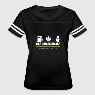 gas grass or ass - Women's Vintage Sport T-Shirt
