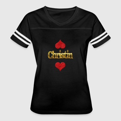 Christin - Women's Vintage Sport T-Shirt