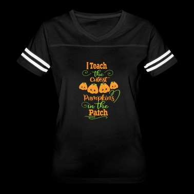 Halloween Teachers Cutest Pumpkins In The Patch - Women's Vintage Sport T-Shirt