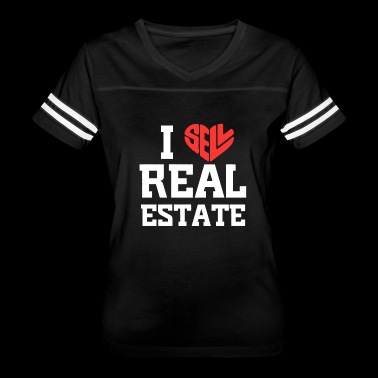I Love Sell Real Estate T-shirt - Women's Vintage Sport T-Shirt