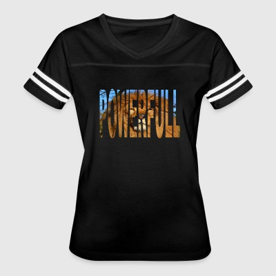 The Powerful - Women's Vintage Sport T-Shirt