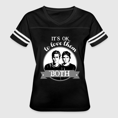 TVD. It's OK to love them both. - Women's Vintage Sport T-Shirt
