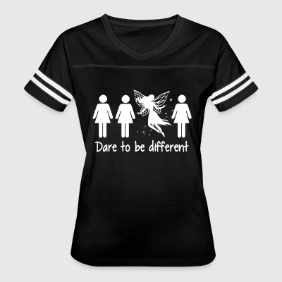 Girl dare to be different shirt - Women's Vintage Sport T-Shirt