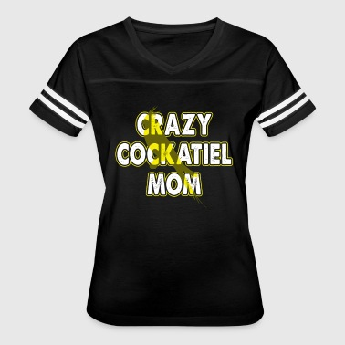 CRAZY COCKATIEL MOM SHIRT - Women's Vintage Sport T-Shirt