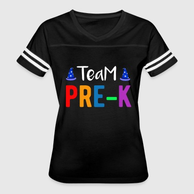 Team Pre-K Teacher T-Shirt - Women's Vintage Sport T-Shirt