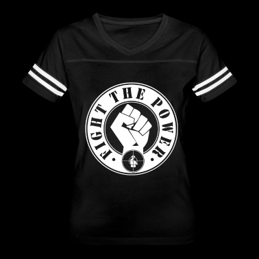 Fight The Power Public Enemy - Women's Vintage Sport T-Shirt