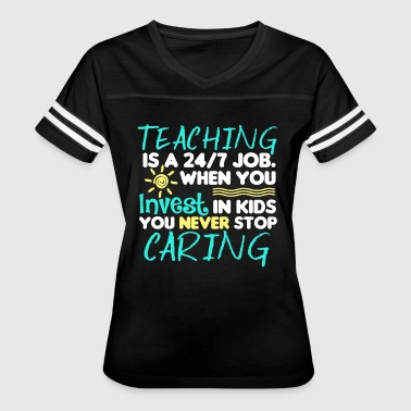 Teaching Job Shirts - Women's Vintage Sport T-Shirt