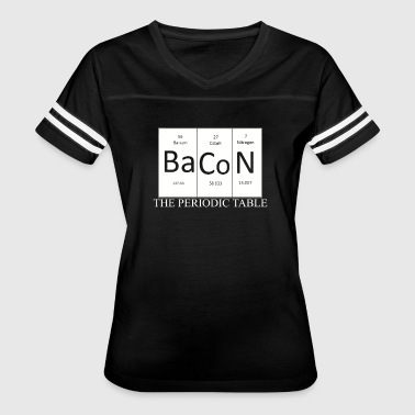 Bacon Periodic Table Novelty - Women's Vintage Sport T-Shirt