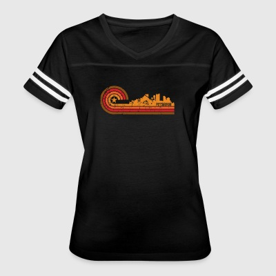 Retro Style Pittsburgh Pennsylvania Skyline - Women's Vintage Sport T-Shirt